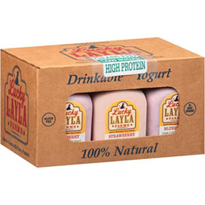 Lucky Layla Farms Drinkable Yogurt Combo Pack (48 oz., 6 ct.)
