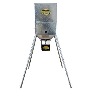 "SpinTech 400 lb. Capacity Feeder – 6' Legs with 12-Volt ""EZ"" Digital Timer"