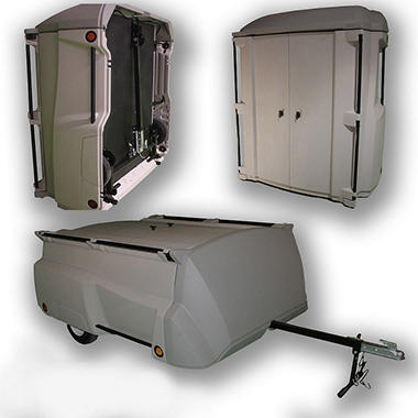 Tow-N-Stow Convertible Storage/Trailer