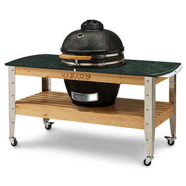 *$899 after $400 Savings* Vision Grills Kamado Grilling Station