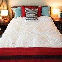 SereneHeat Heated Down Comforter