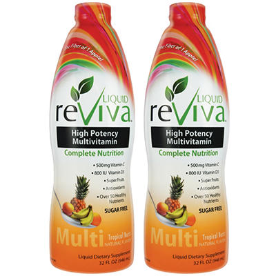 Liquid ReViva High Potency Multivitamin - 2 pk.