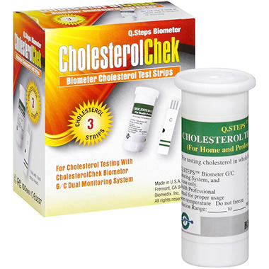 CholesterolChek Cholesterol Test Strips - 6 ct.
