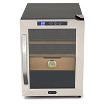 Whynter Stainless Steel 1.2 cu. ft. Cigar Cooler Humidor
