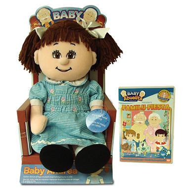 Baby Abuelita Andrea Doll Amp Family Fiesta Dvd Sam S Club