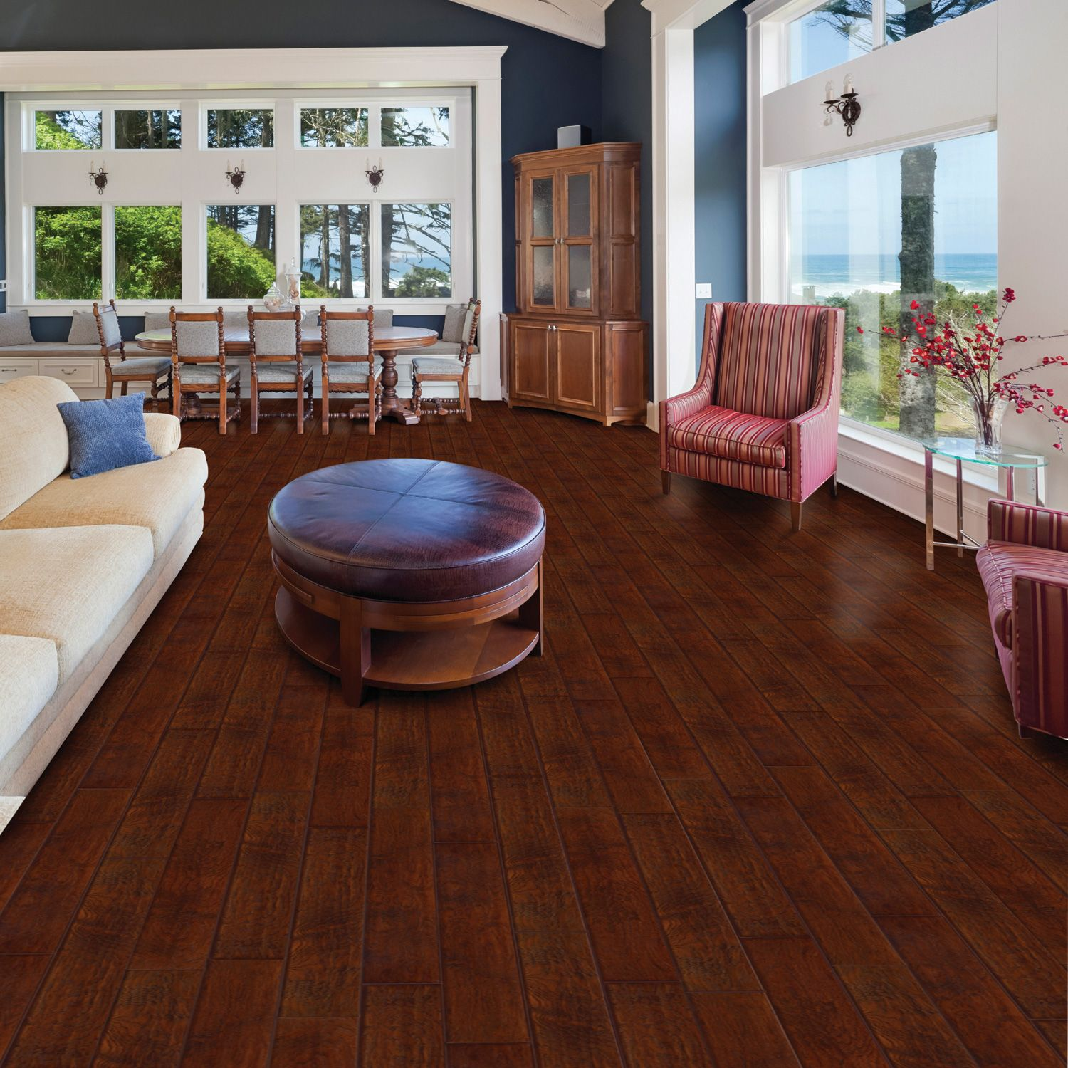 Select surfaces laminate flooring canyon oak sq for Flooring surfaces