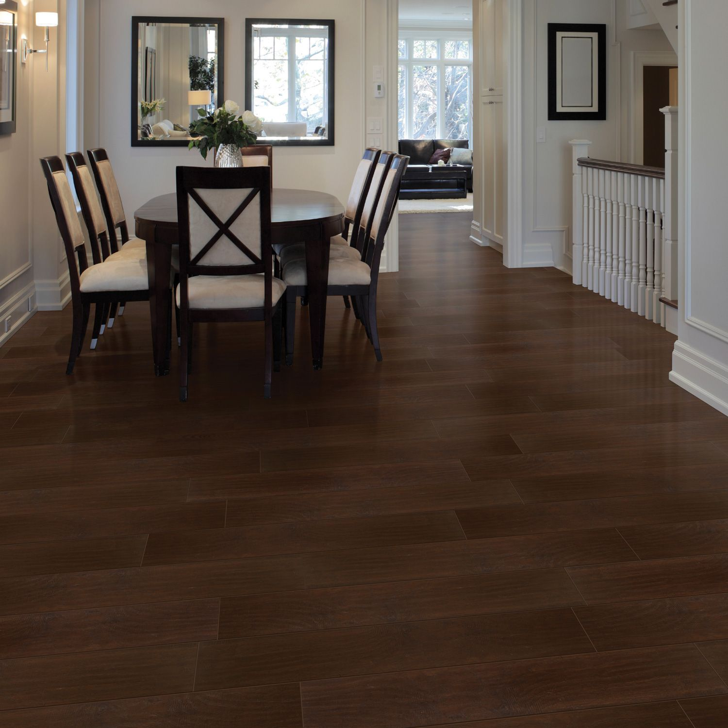 Select Surfaces Laminate Flooring Brazilian Coffee 16 91