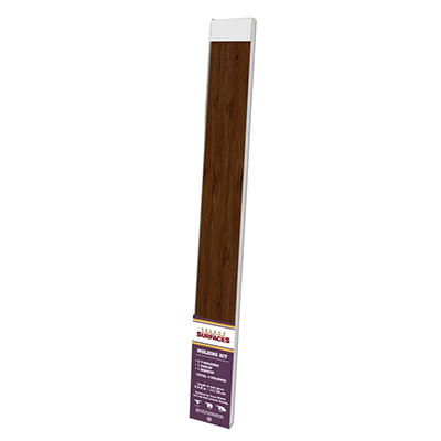 Select Surfaces™ Laminate Molding Kit  - Cocoa Walnut