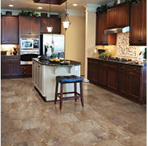 Select Surfaces Mountain Slate Click Luxury Vinyl Tile Flooring - 4 boxes.