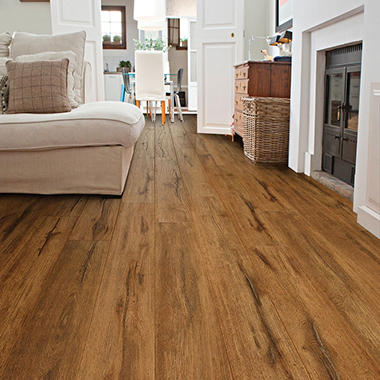 Select Surfaces Caramel Laminate Flooring Sam S Club