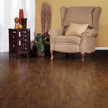 Golden select click laminate flooring walnut sam 39 s club for Golden select laminate flooring