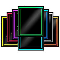 "Green Light Innovations Spectrum Light Frame Message Board - 20"" x 24"""
