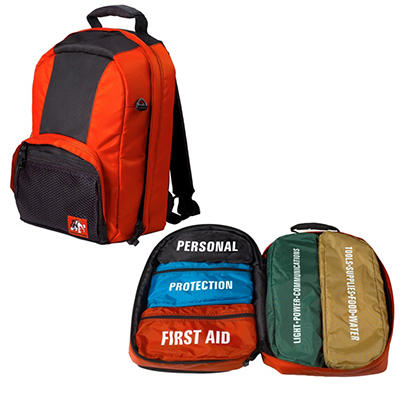 Ready Freddy Survival Kit - 1 Backpack