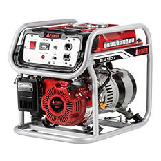 A-iPower SUA1500 1,500 Watt Gasoline Powered Portable Generator with Manual Start