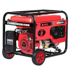 A-iPower AP5000 5,000 Watt Gasoline Powered Portable Generator with Manual Start