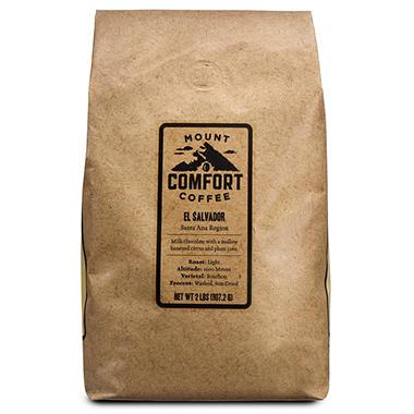 Mount Comfort El Salvador Whole Bean Coffee - 2 lbs.