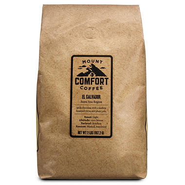 Mount Comfort El Salvador Whole Bean Coffee - 2 lbs.