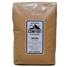 Mount Comfort Costa Rica Tarrazu Coffee, Whole Bean (2 lbs.)