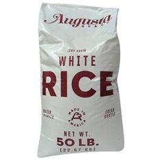 Augusta Long Grain White Rice - 50 lbs.