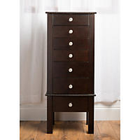 Hives & Honey Crystal Jewelry Armoire - Espresso