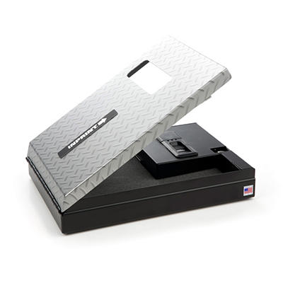 INPRINT Biometric Gun Safe with High Security Fingerprint Access -  Diamond Plate Finish
