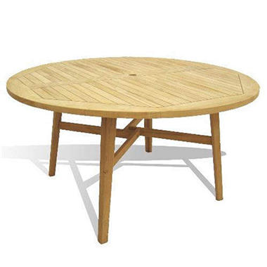 Piemonte Teak Round Dining Table