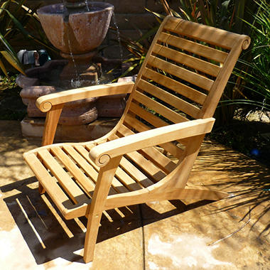 Colonial Teak Lounge Chair