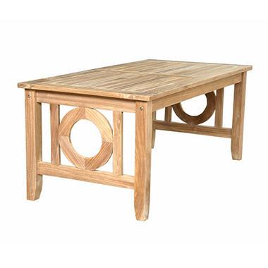 Alba Teak Square Table