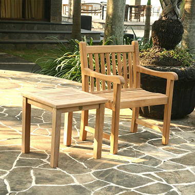 Alba Teak Side Table