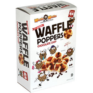 WaffleWaffle Chocolate Chip Waffle Poppers (64 ct.)