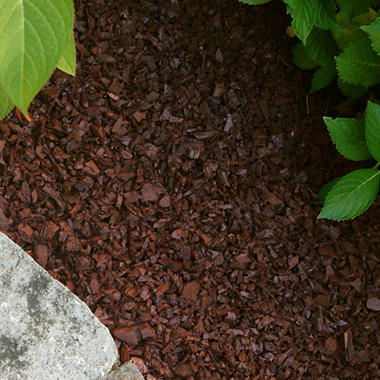 Pinnacle Rubber Mulch - Redwood