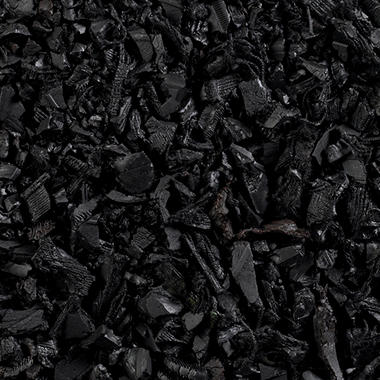 Pinnacle Rubber Mulch - Black