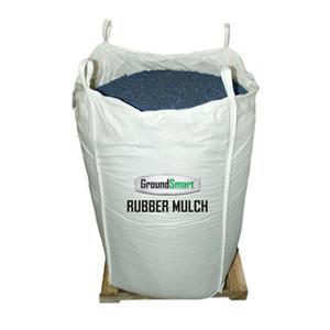 GroundSmart Rubber Mulch - Blue 38.5 cubic feet (SuperSack)