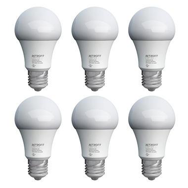 Retrofit Lighting A19 10 Watt LED Lightbulbs - 6 Pack