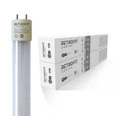 """Retrofit 48"""" T8 12 Watt Lightbulbs 40 Pack - 4000K & 5000K Color"""