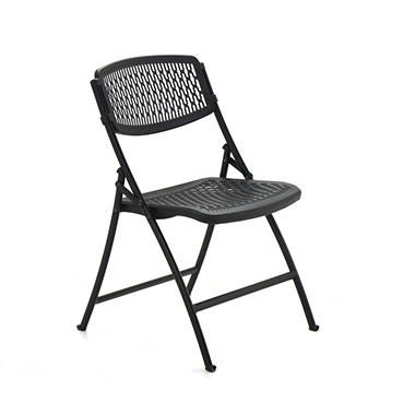 Flex One Folding Chair from Mity Lite - Black