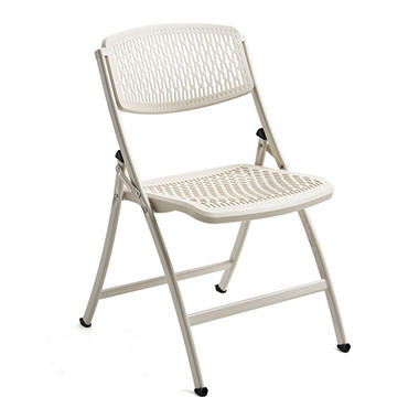 Flex One Folding Chair from Mity Lite - White