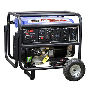ETQ 8250 Watt Portable Gas Generator with Electric Start