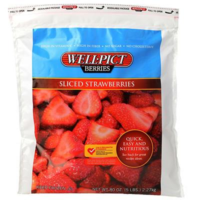 Anacapa Frozen Strawberries - 5 lbs.