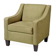 Remington Club Chair, Kiwi