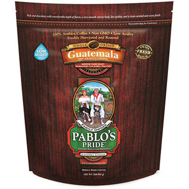 Pablo's Pride™ Gourmet Coffee Whole Bean - 2lb
