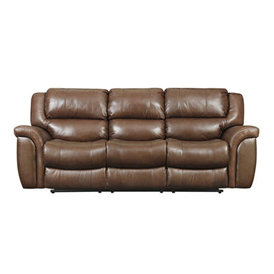 Harper Leather Reclining Sofa