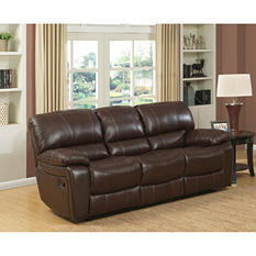 Delancy Leather Reclining Sofa