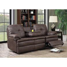 Buck Fabric Reclining Sofa