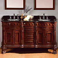 "OVE Decors Buckingham 60"" Double Bowl Vanity"