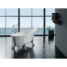 Ove Decors Freestanding Claw Foot Tub