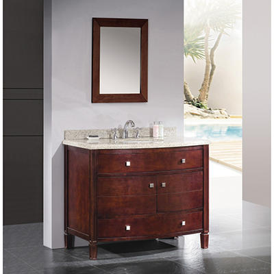 "Ove Decors Georgia 42"" Single Bowl Bath Vanity"