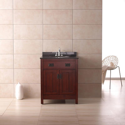 "Ove Decors Cain 28"" Single Bowl Bath Vanity"