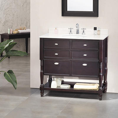 "Ove Decors Elizabeth 36"" Single Bowl Bath Vanity"