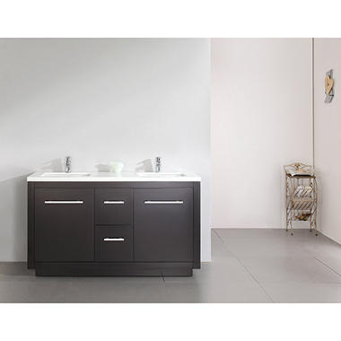 Cubix Vanity Stained Cabinet
